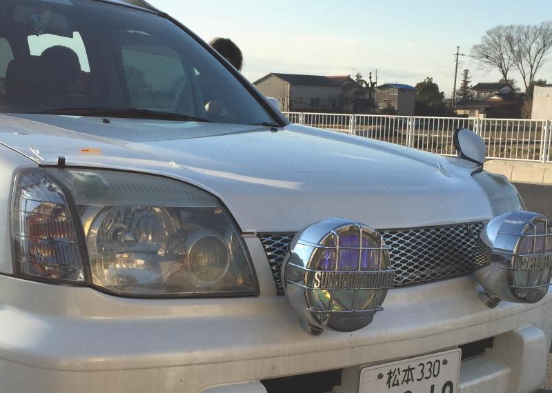 安曇野から埼玉までフロントプロテクターを買いに来てくれました